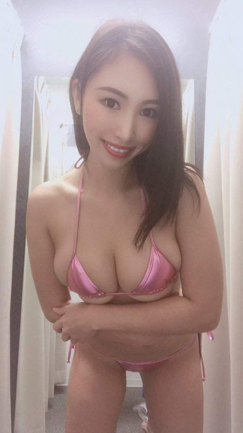 柊木里音の自撮りエロ画像24