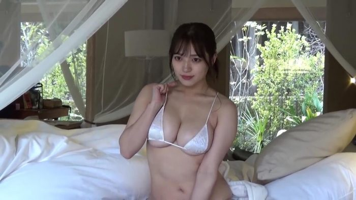 """ヤンマガ 春の""""パイ""""祭り♡ 東雲うみ・瀬山しろ・ちとせよしの キャプチャ"""